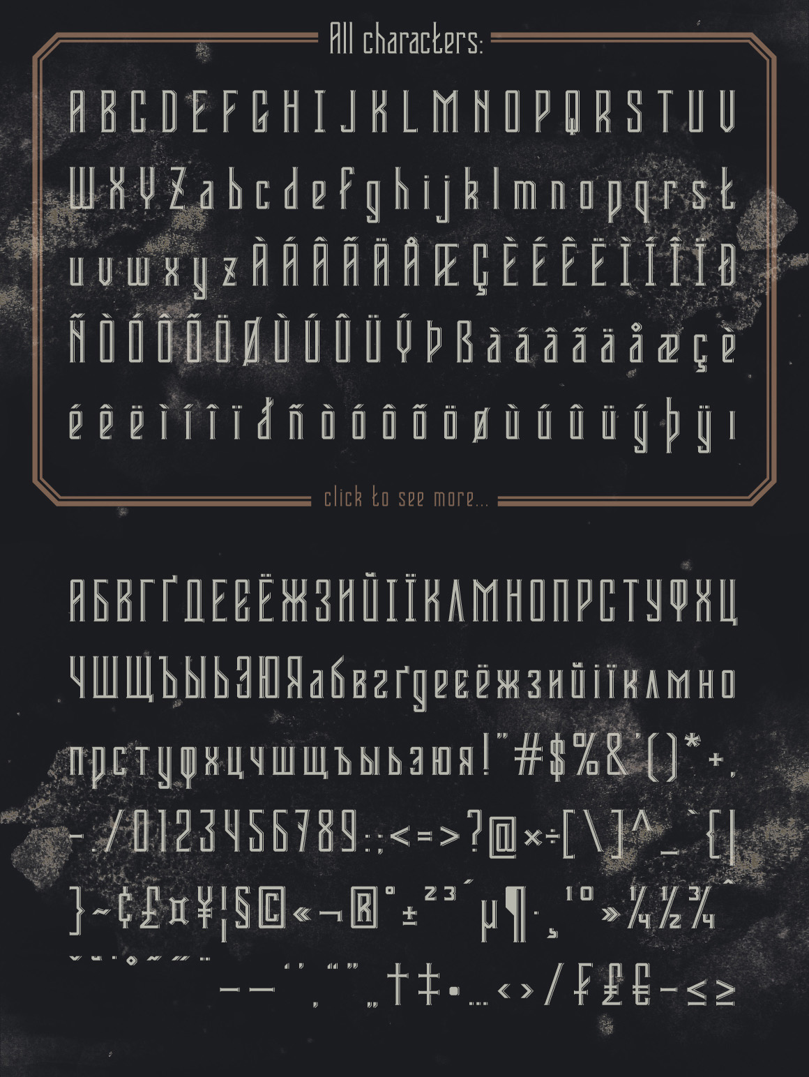 Bootleggers font example image 6