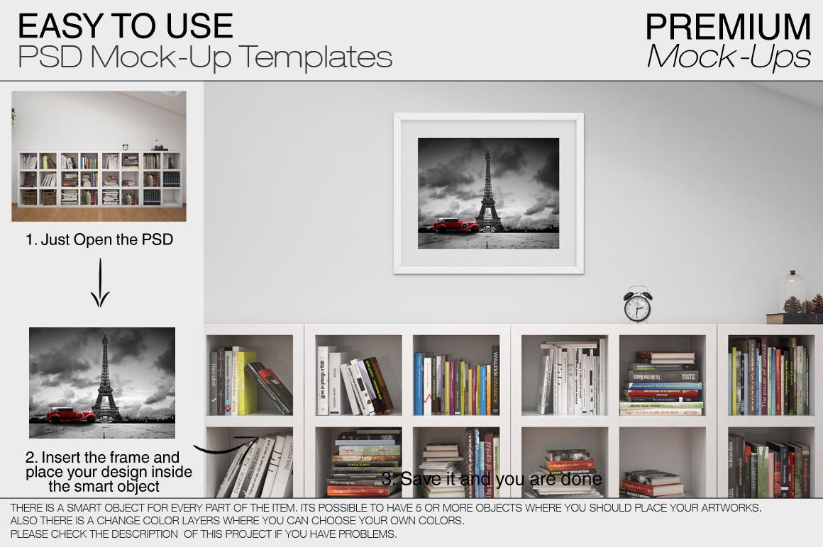 Pillows & Frames Set example image 15