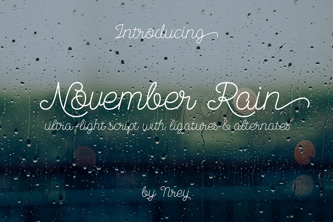 November Rain example image 1