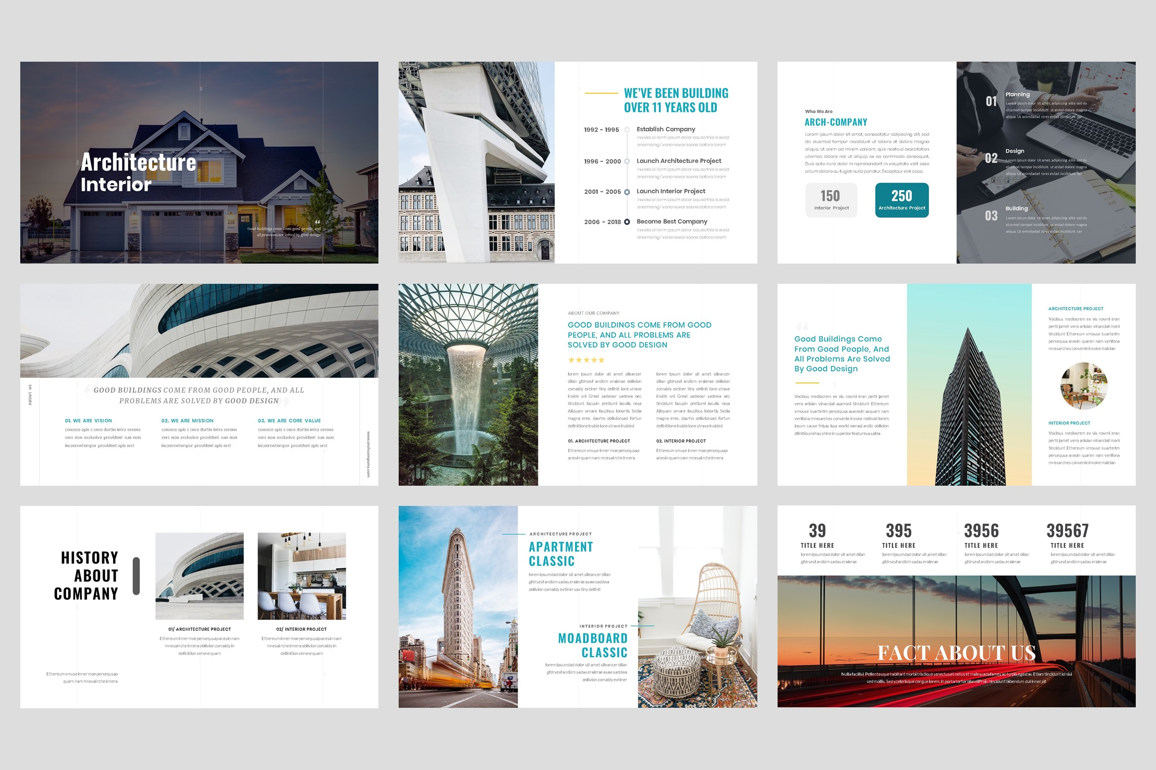 Architecture - Interior keynote Template example image 2