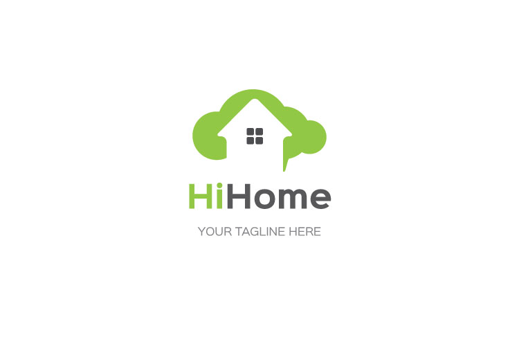 Cloud Home Property Logo example image 1