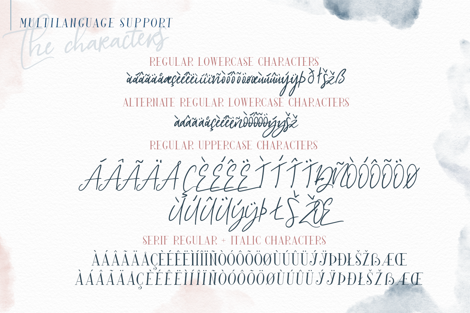 My Beloved ~ Script & Serif Font example image 9