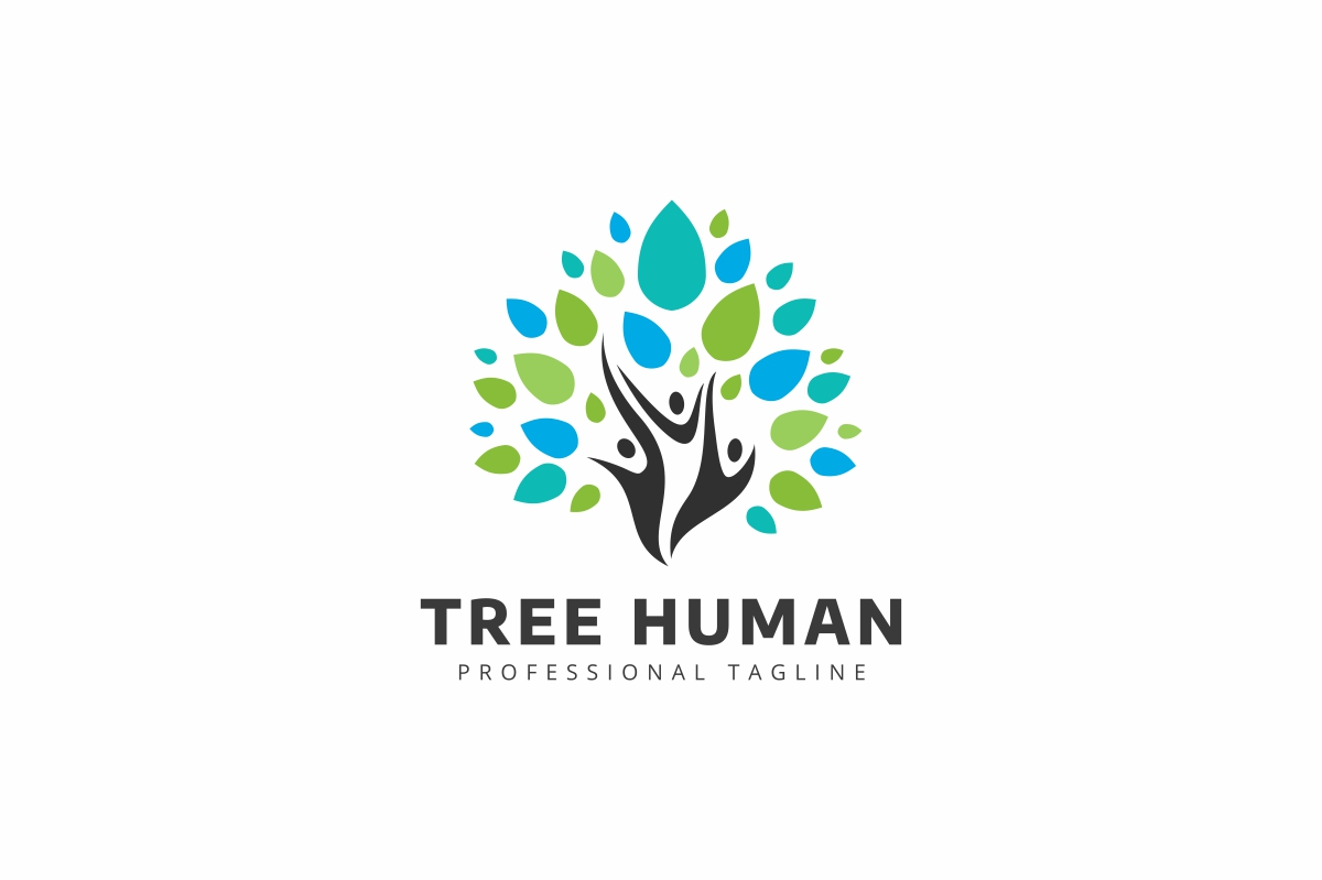 Tree Human Logo example image 1