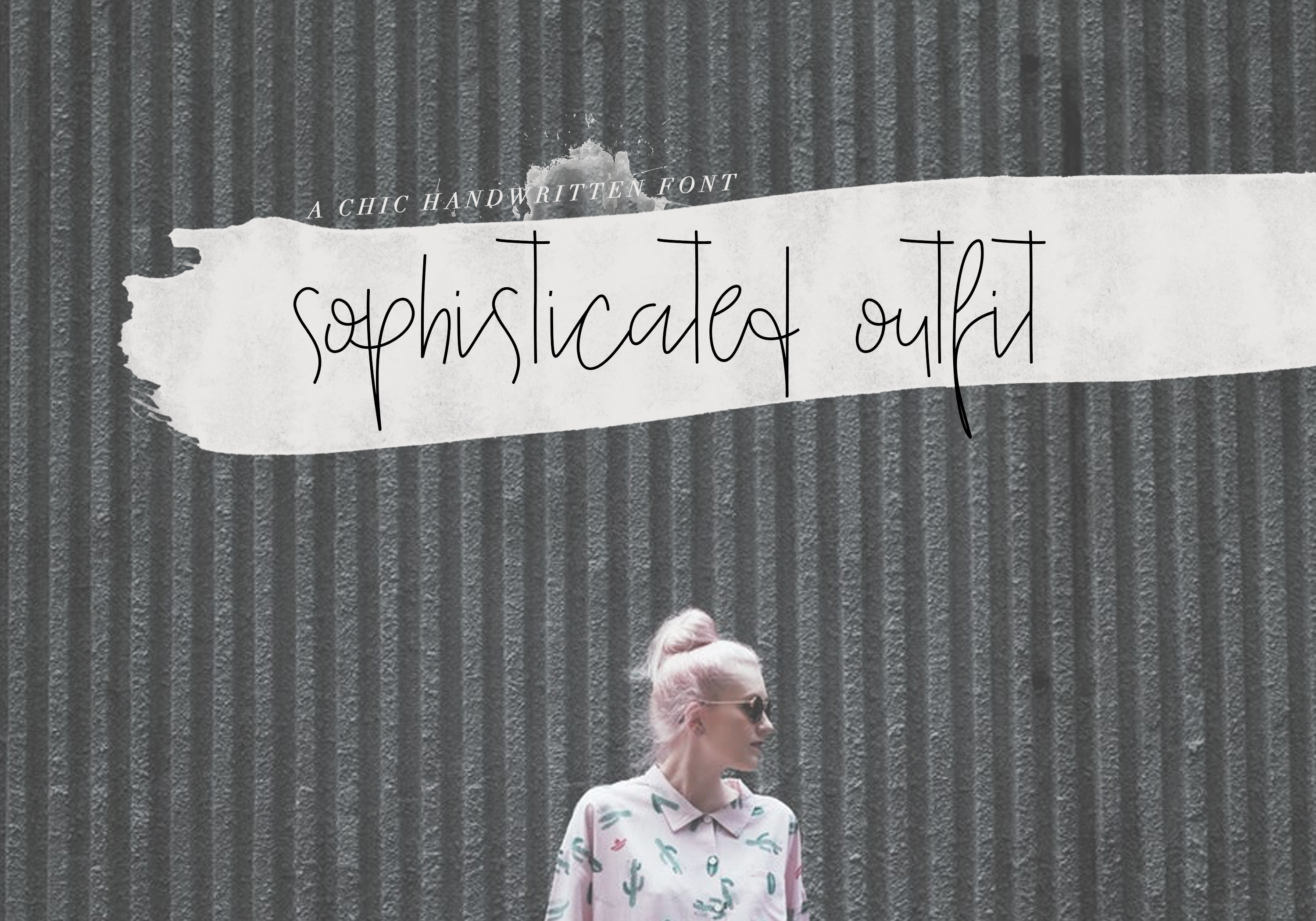 Sophisticated Outfit - A Chic Handwritten Font example image 9