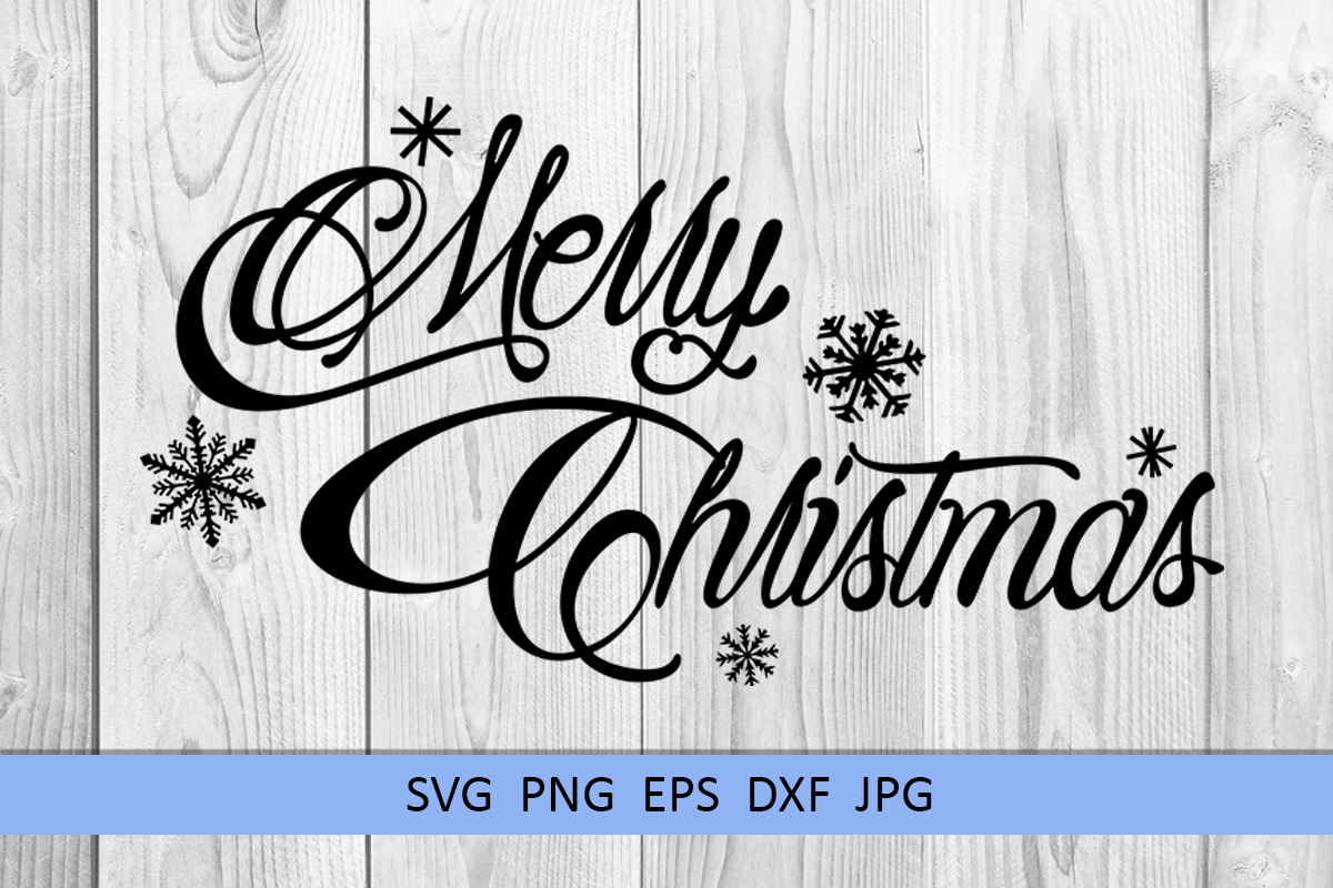 Merry Christmas svg Winter svg Snowflake svg example image 6