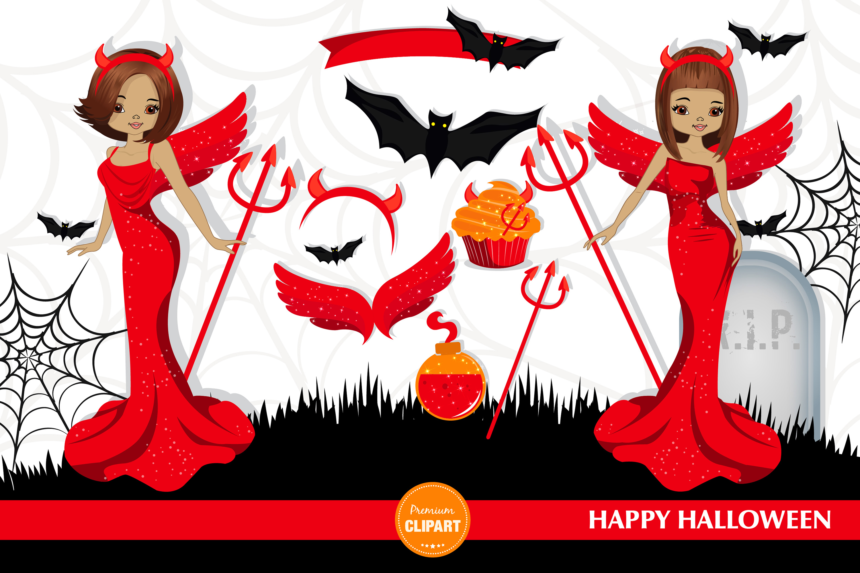 Halloween girl, Halloween illustrations, Halloween printable example image 2