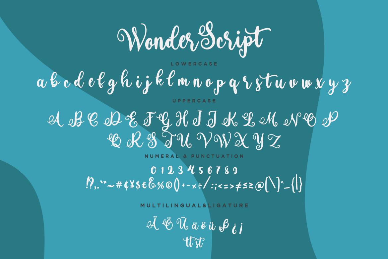 Wonder Script Fun Calligraphy example image 7