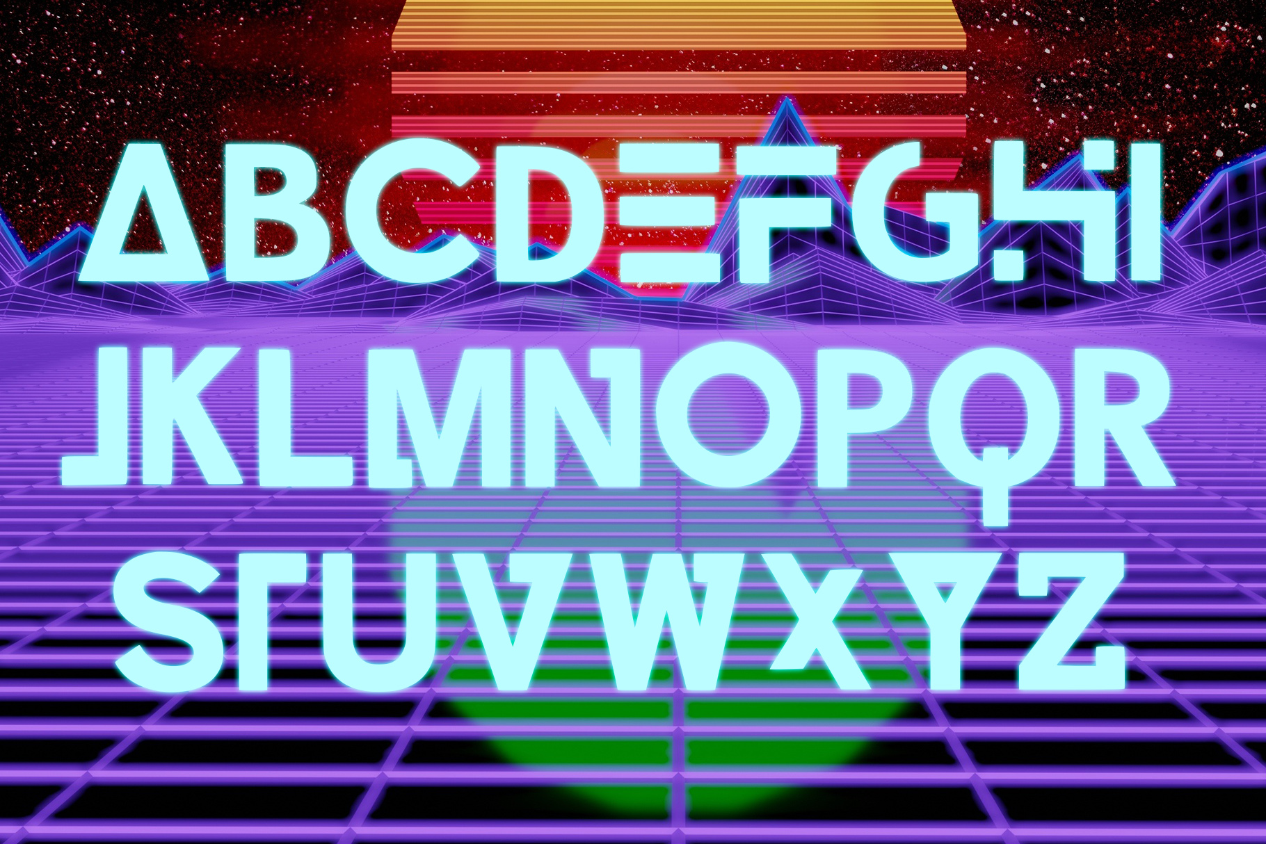 CONTROL - A Futuristic Typeface example image 4