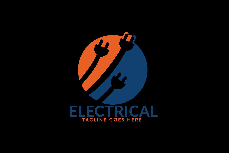 Electrical Plug Logo Design. Power Energy Symbol. example image 2