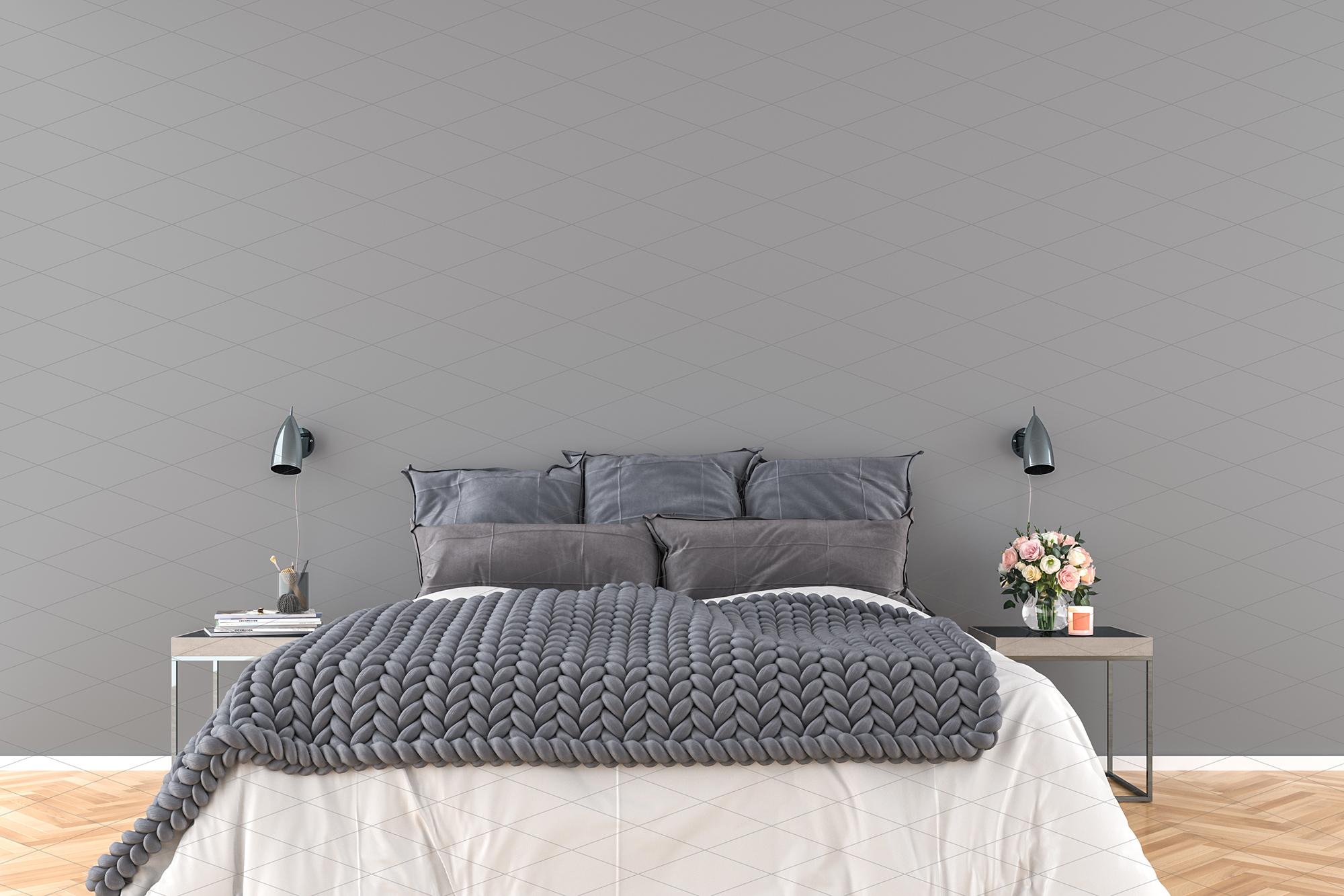Wall mockup - wallpaper mock up example image 5