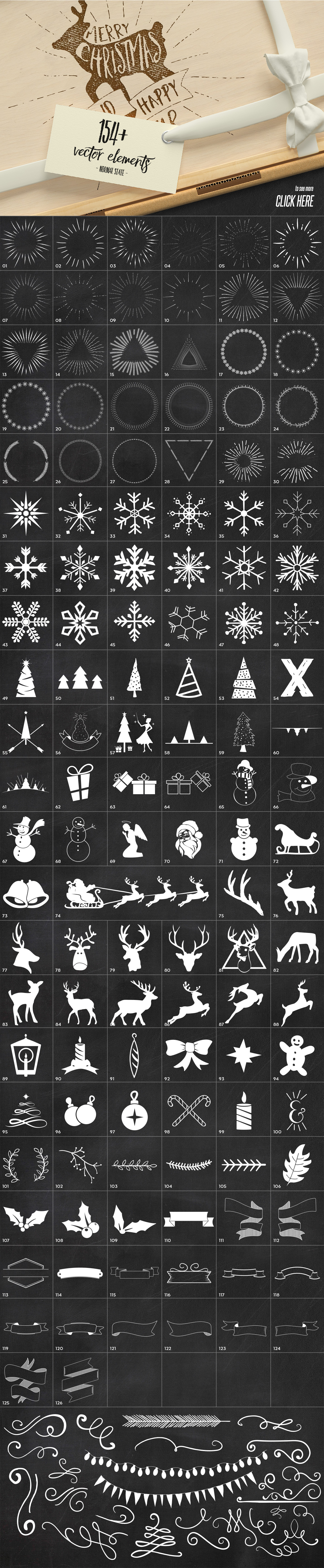 Christmas Overlays Creator example image 8