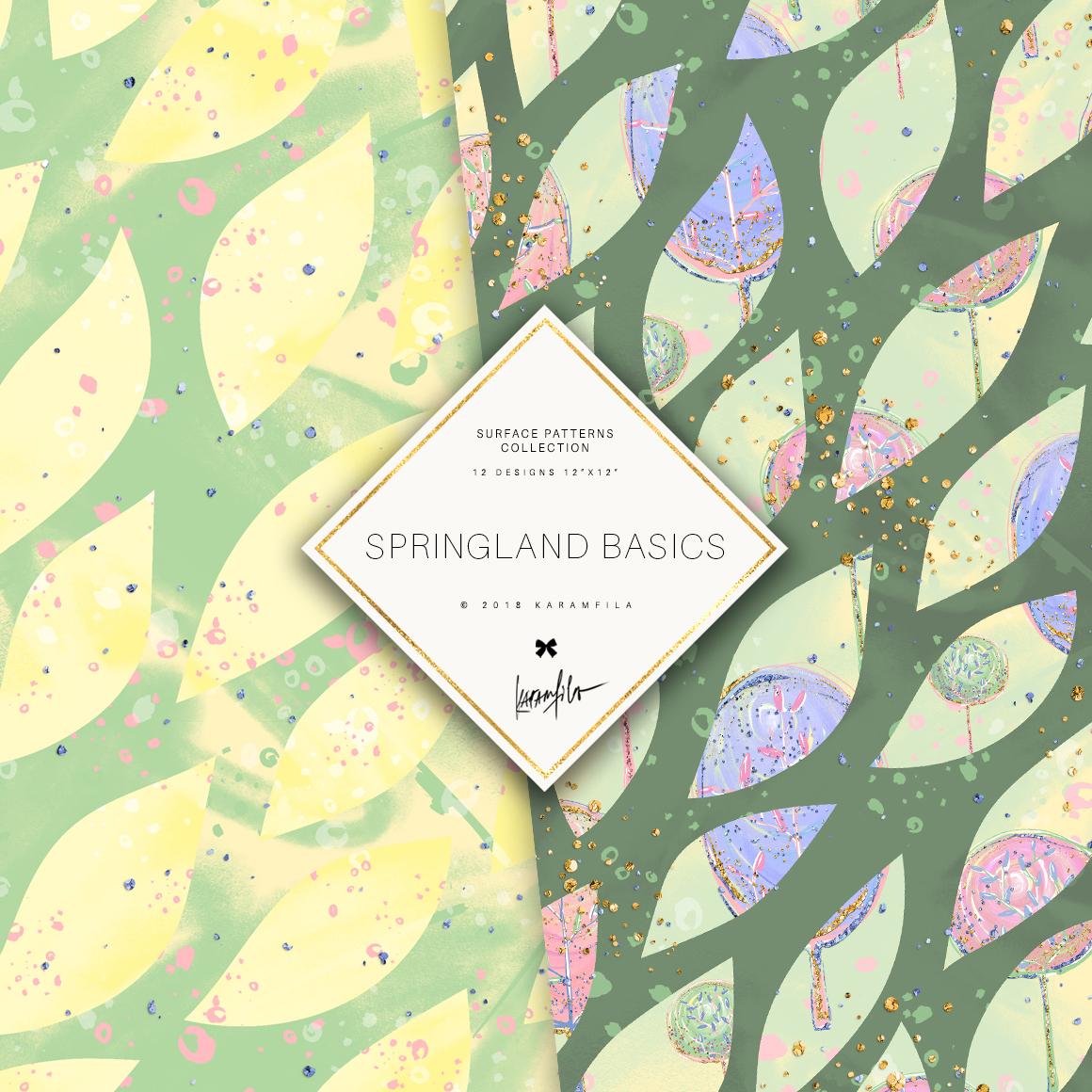 Karamfila's Springland Basic Patterns example image 3