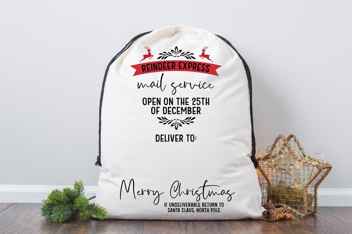 Christmas Bag SVG Bundle example image 3