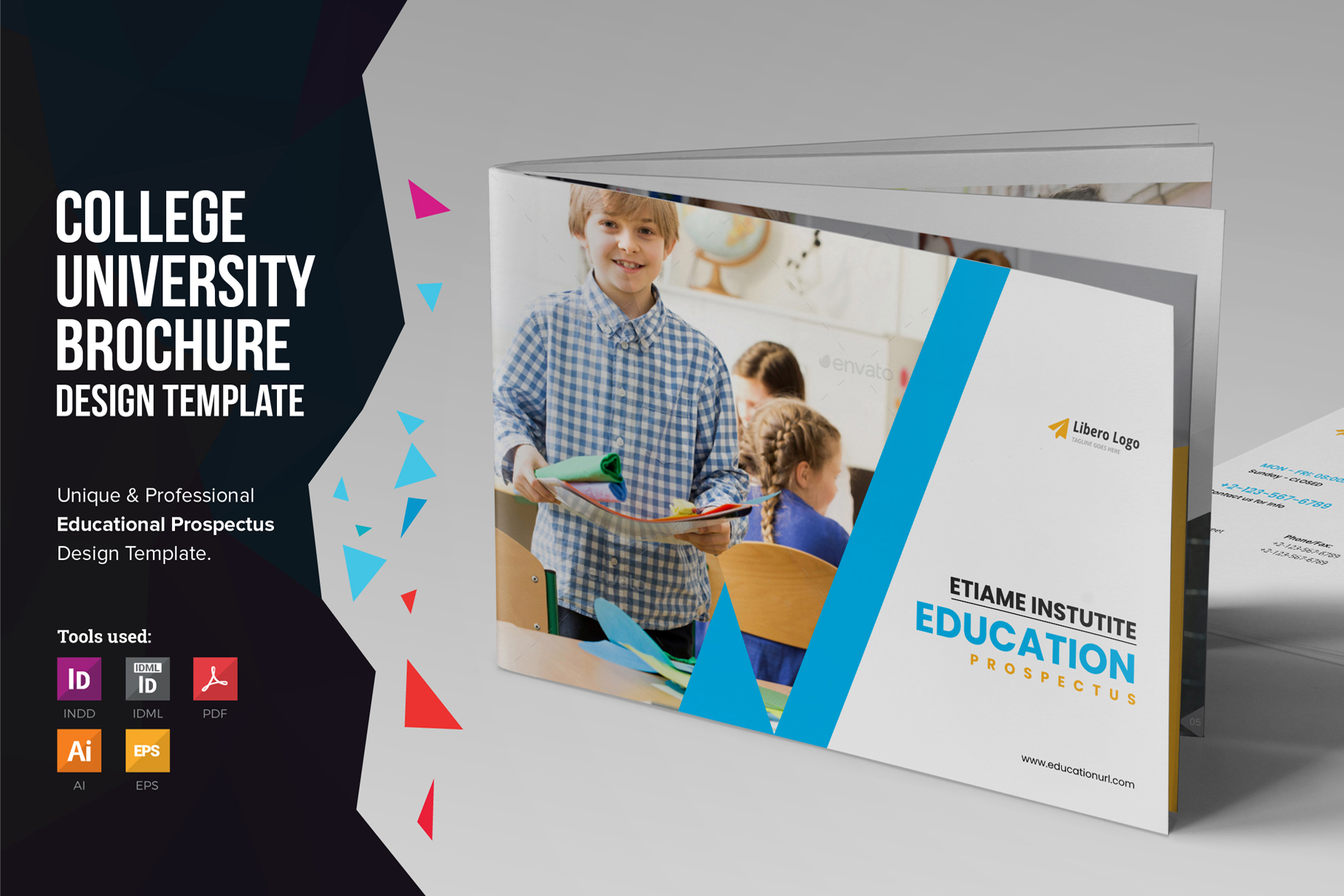 Education Prospectus Brochure v12 example image 1