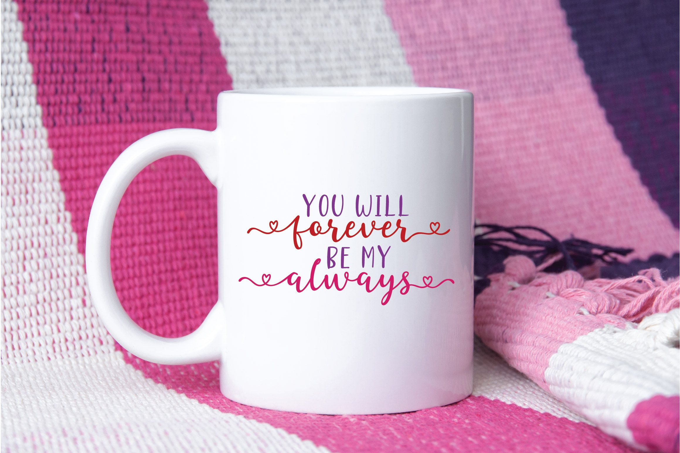You Will Forever Be My Always SVG Cut File - Valentine SVG example image 3