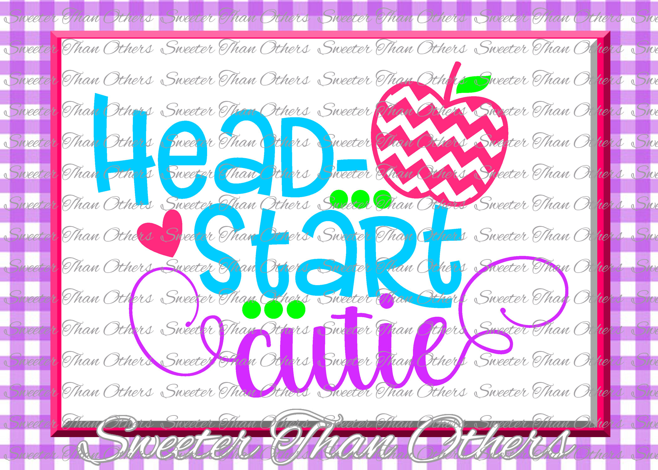 School Cutie SVG Bundle Kindergarten First Day of School example image 7