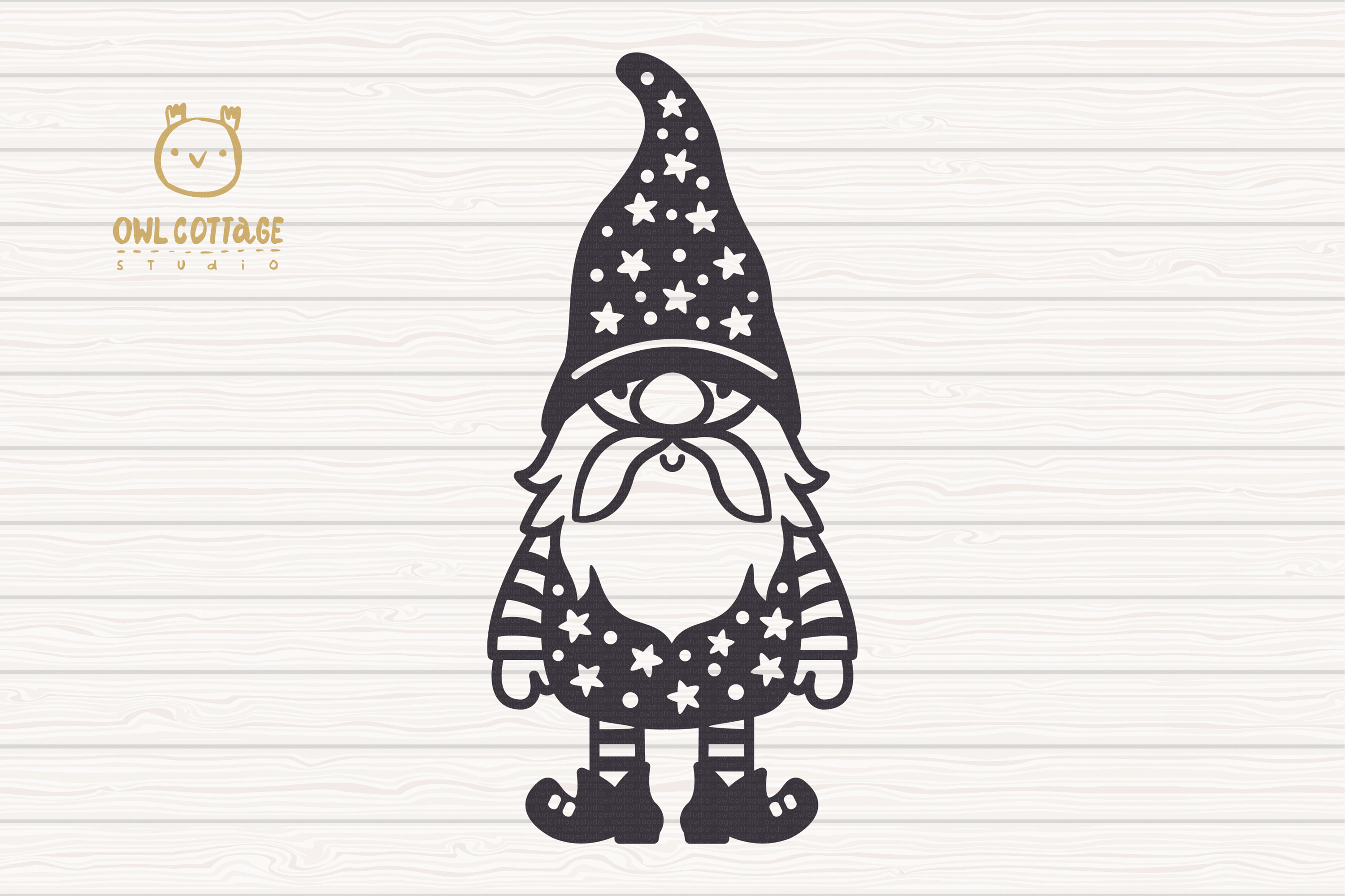 Scandinavian Gnomes SVG, Gnome Clipart, Tomte example image 2