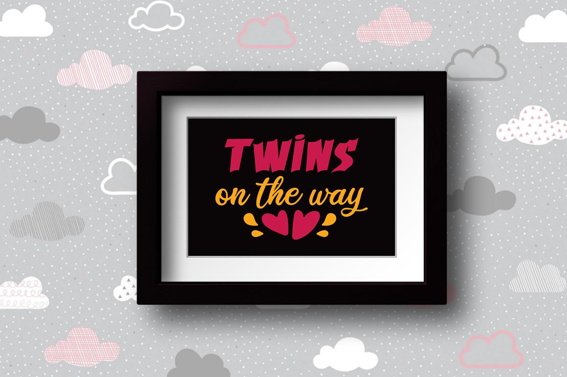BUNDLE Pregnancy Announcement SVG Cut Files example image 22