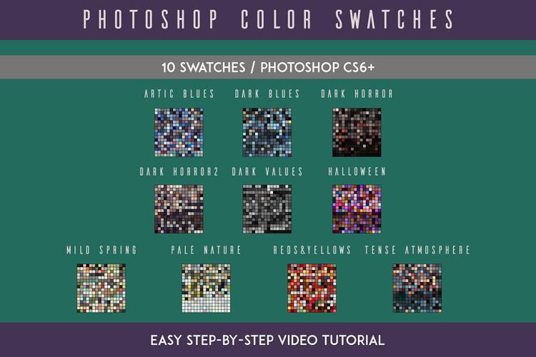 Photoshop Swatches example image 2