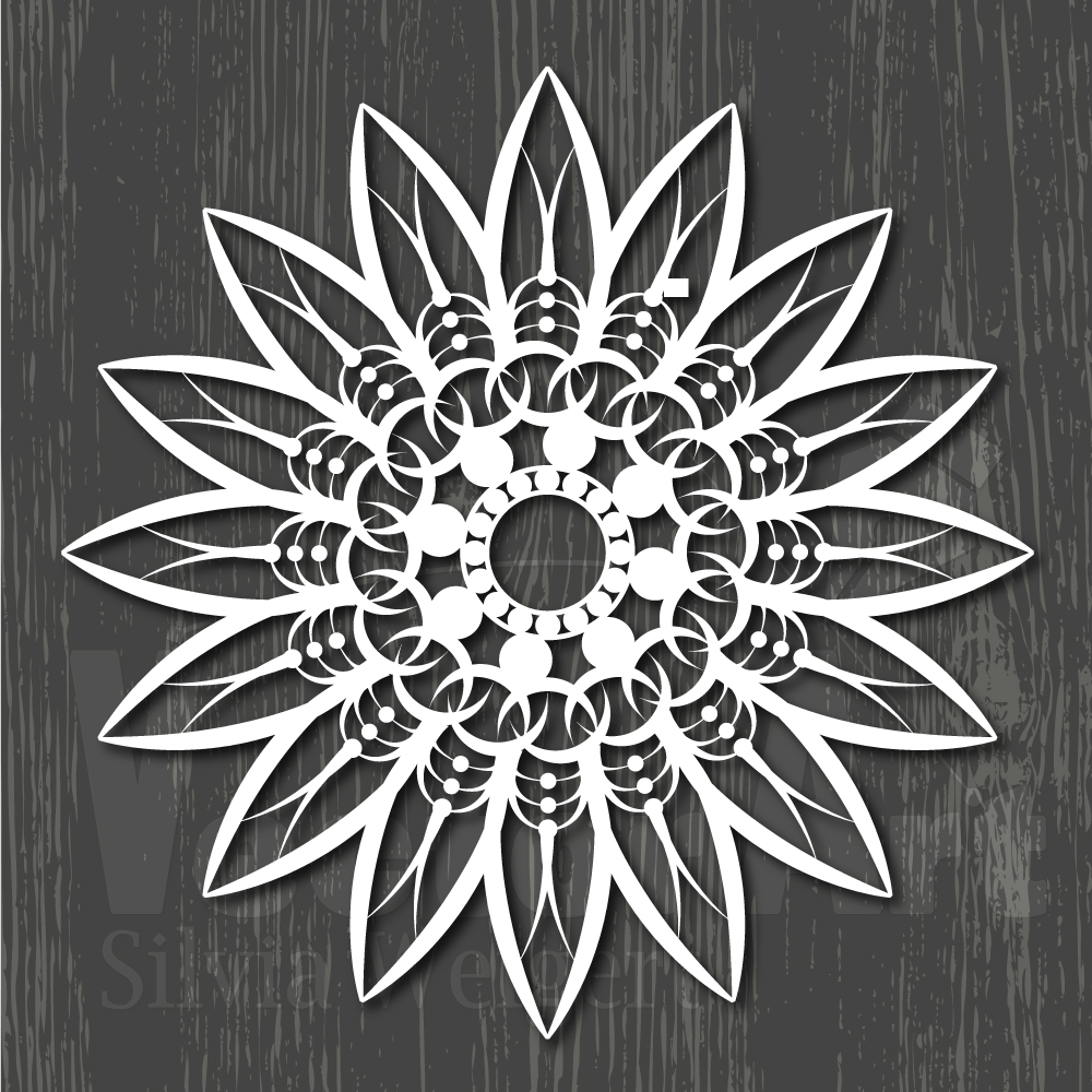 Mandalas SVG - Cut Files for Beginners example image 13