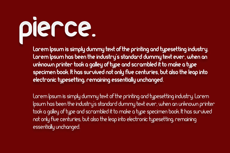 Pierce I NewBold Sans Serif I 30OFF example image 6