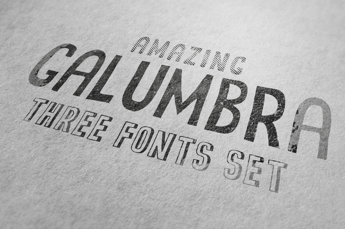Galumbra Font Set example image 4
