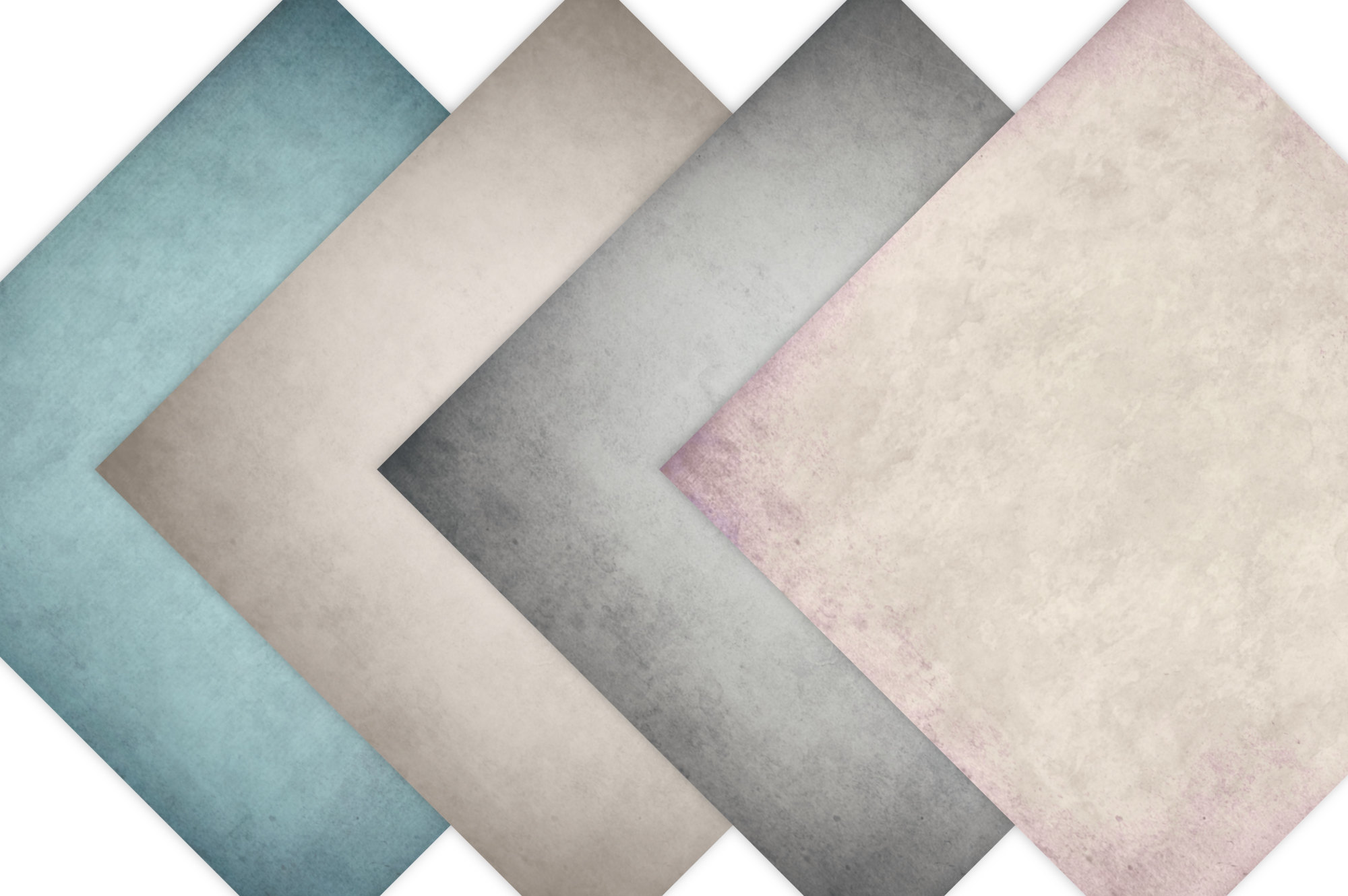 Vintage Paper Backgrounds - Textured Backgrounds in Shabby Chic Colors example image 6