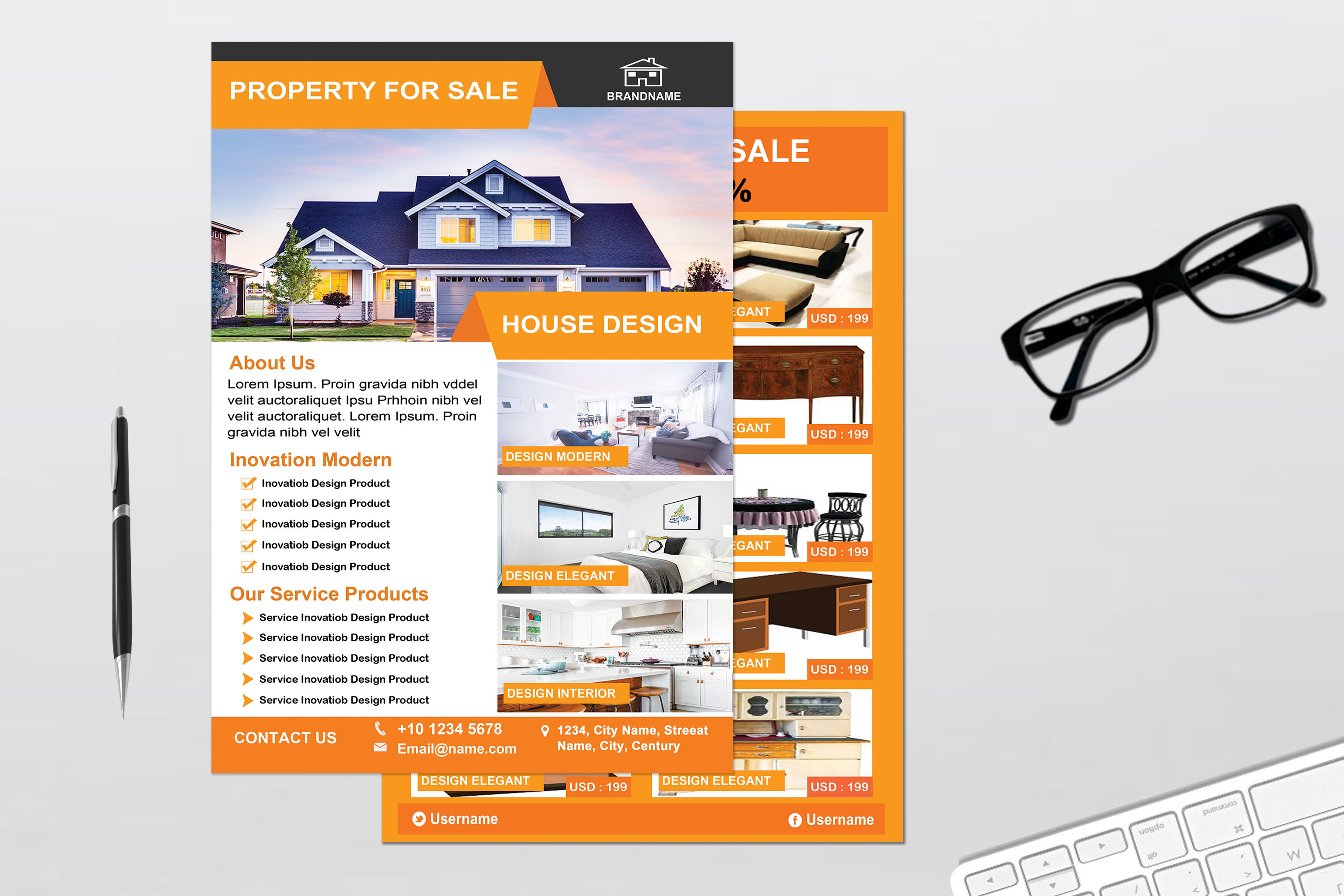 Flyer - Real Estate example image 3
