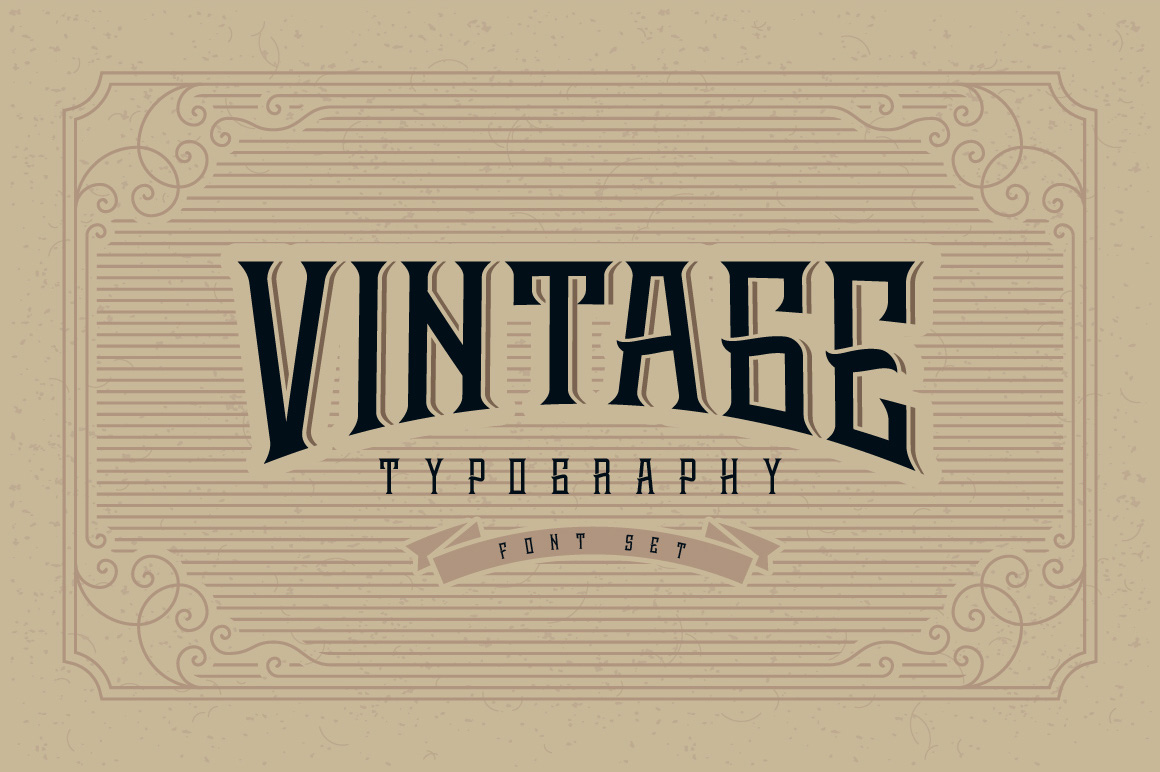 Whiskey label font + design elements example image 2