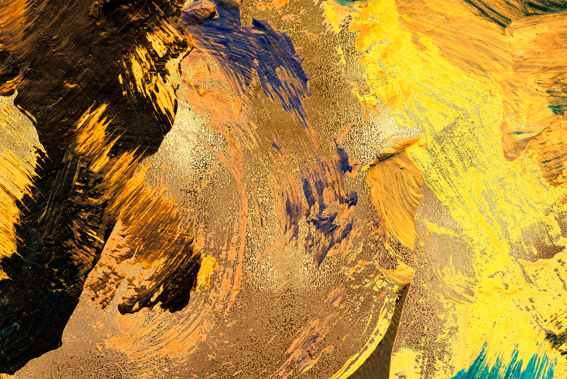 Gold & Painted Backgrounds example image 8
