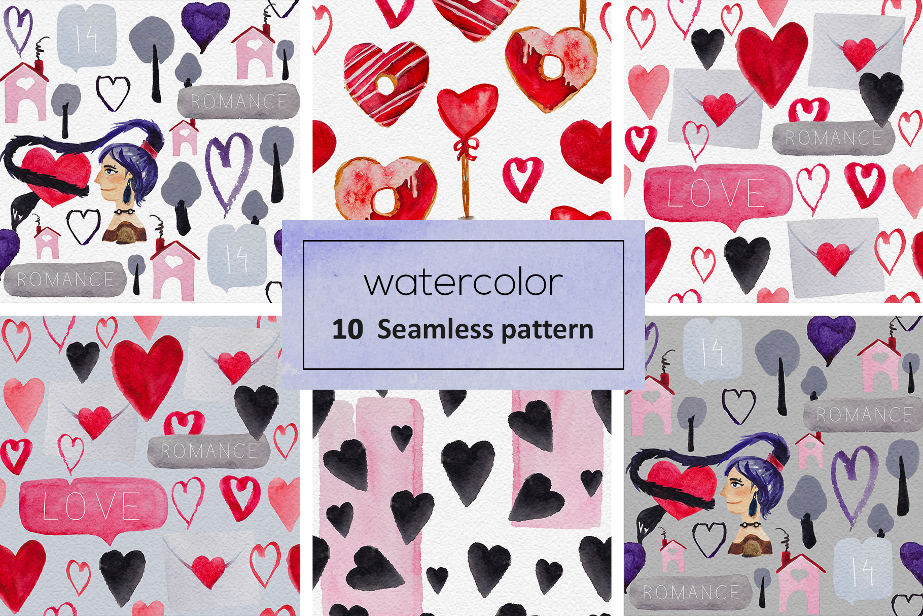 Romantic patterns example image 5