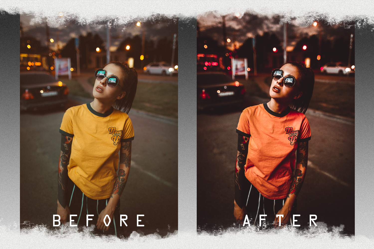 Nude presets for mobile and PC photo filter, photo effect example image 6