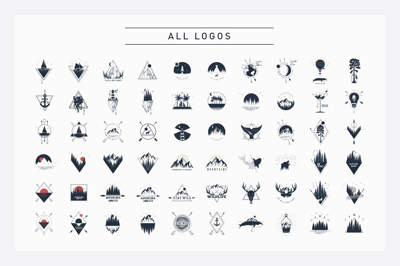 Nordicus. 60 Creative Logos example image 4