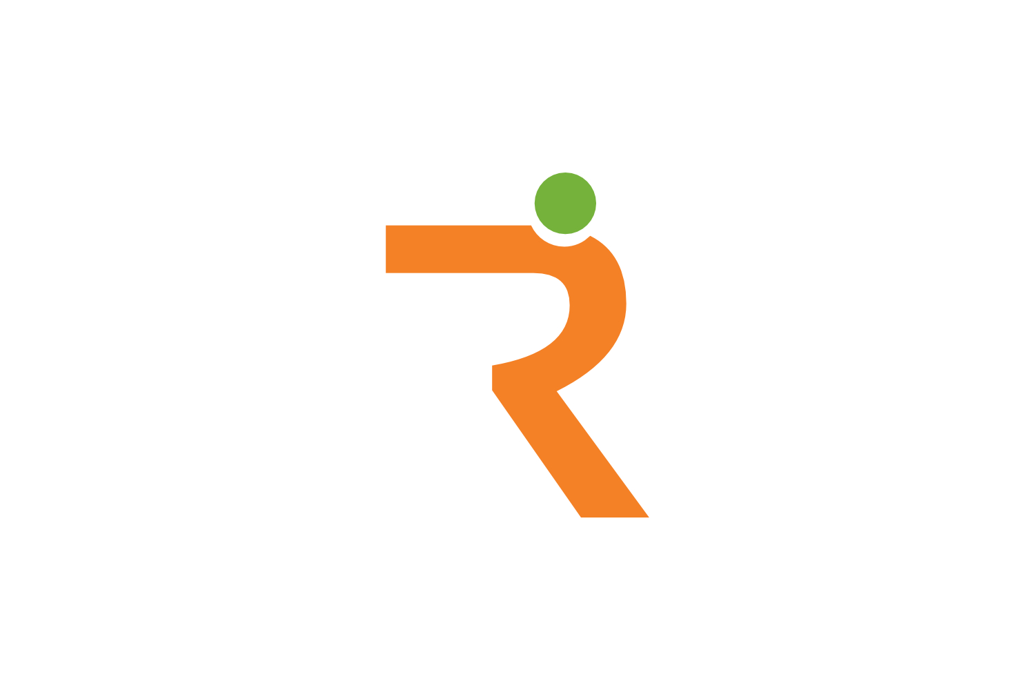 r letter people logo example image 1