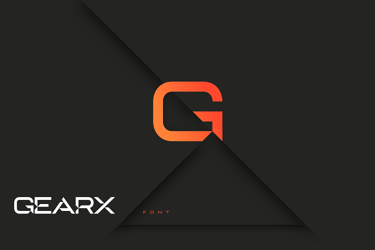 GearX Font example image 1
