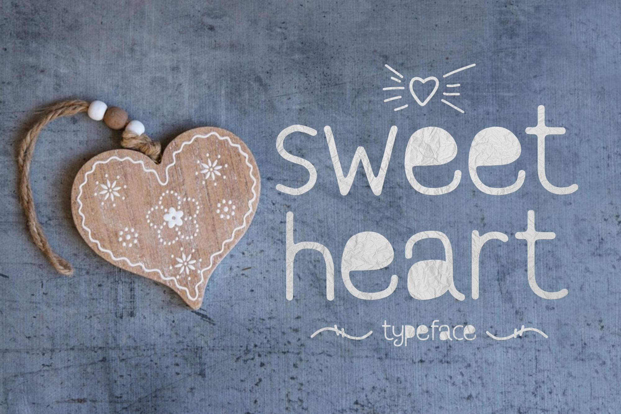 Sweetheart | A Lovely Typeface example image 1