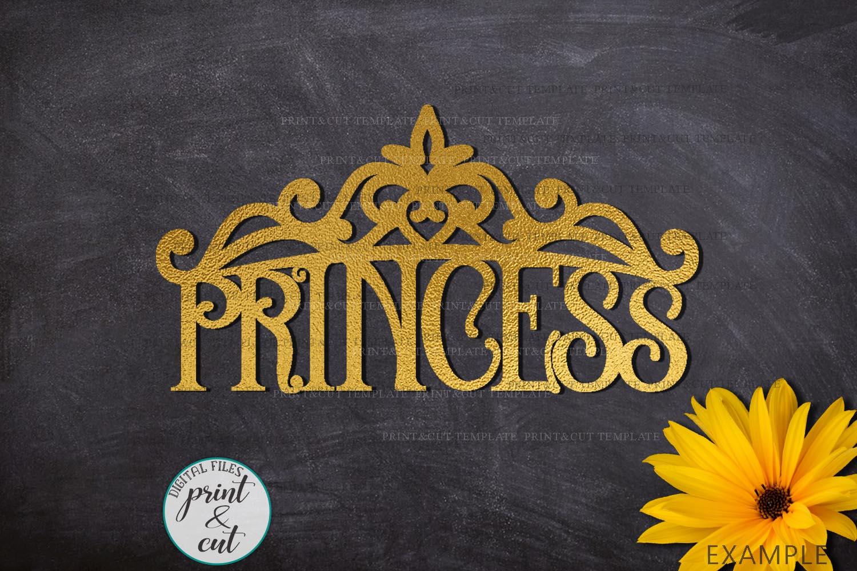 Wedding Princess Bride Bundle cut out svg dxf templates example image 12