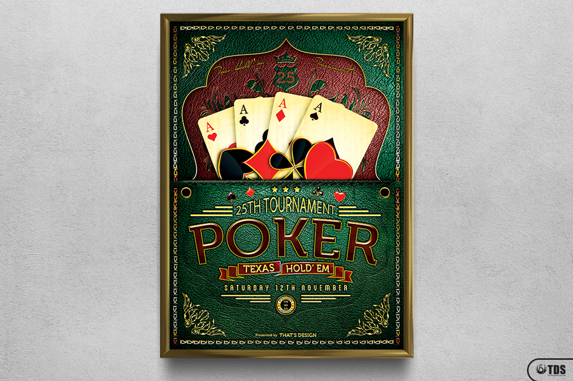 Poker Tournament Flyer Template example image 11