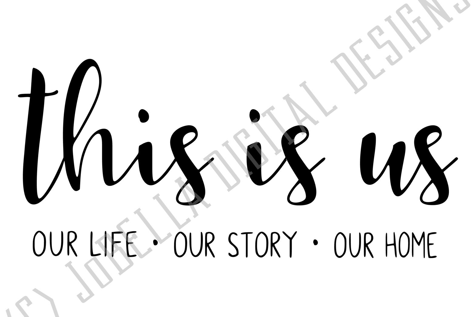 This Is Us SVG and Printable Farmhouse Design example image 2