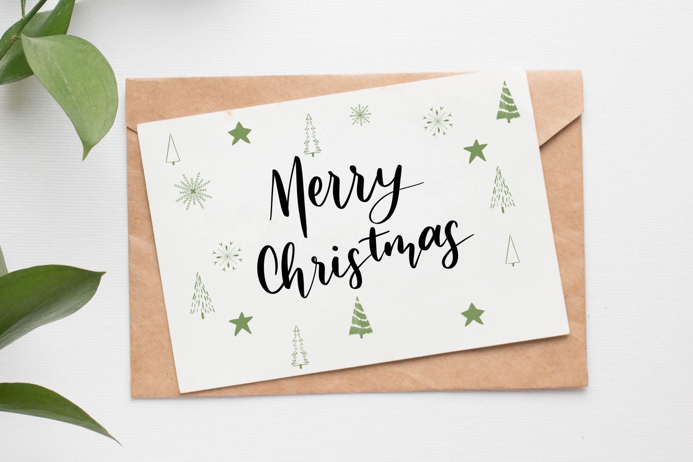 NOEL Procreate Christmas Elements Brush Stamps example image 3
