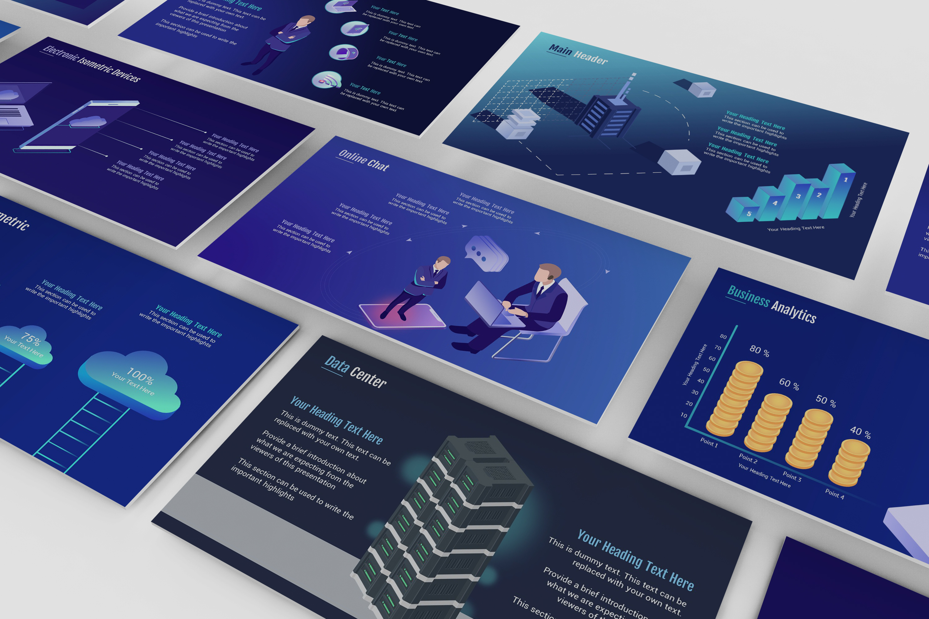 Smart Technology PowerPoint Template example image 2
