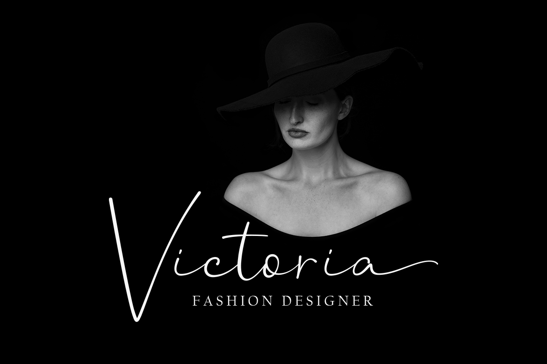 Hanston | Luxury Signature Font example image 3