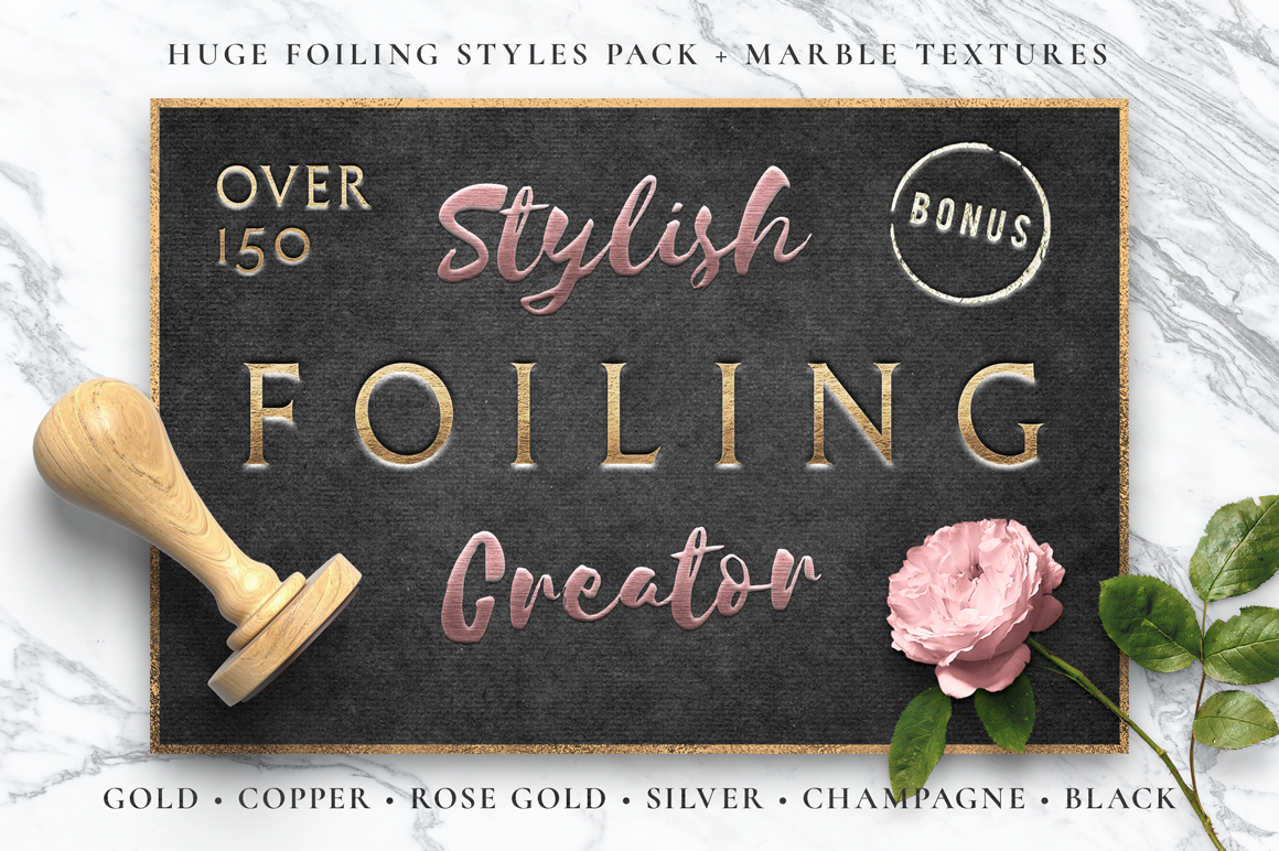 Foiling Creator / Stamping & Embossing example image 1