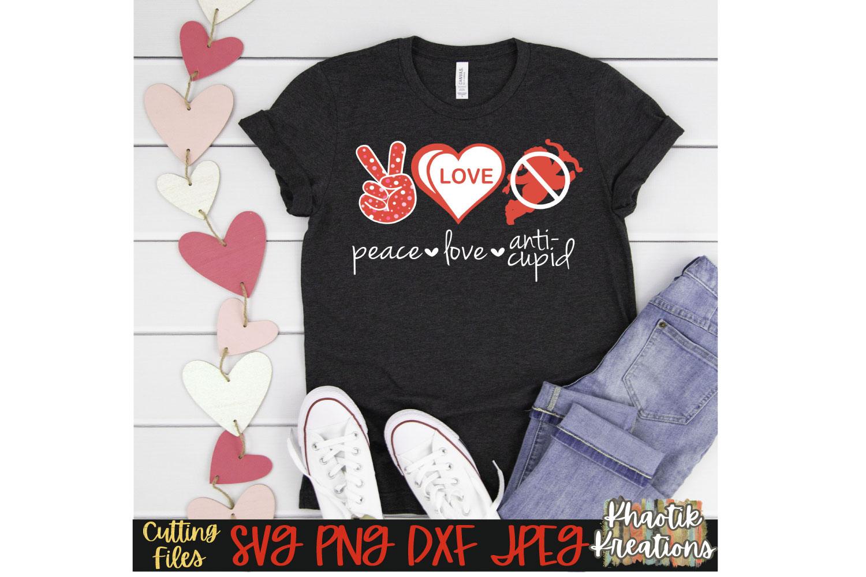 Peace Love Anti-Cupid example image 1