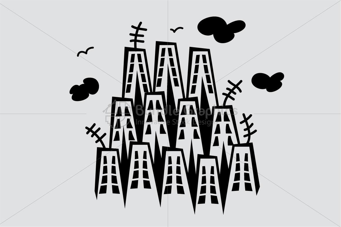 City Scape - Illustrative Background example image 2