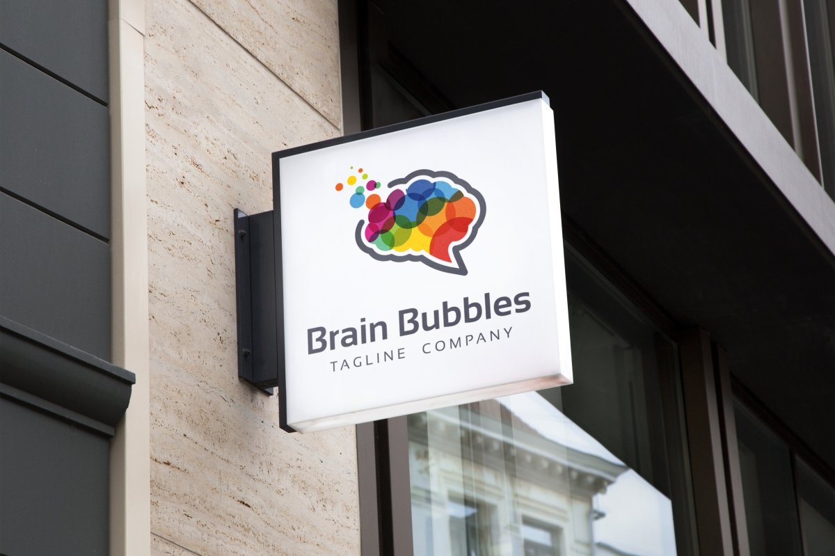 Brain Bubbles Logo example image 5