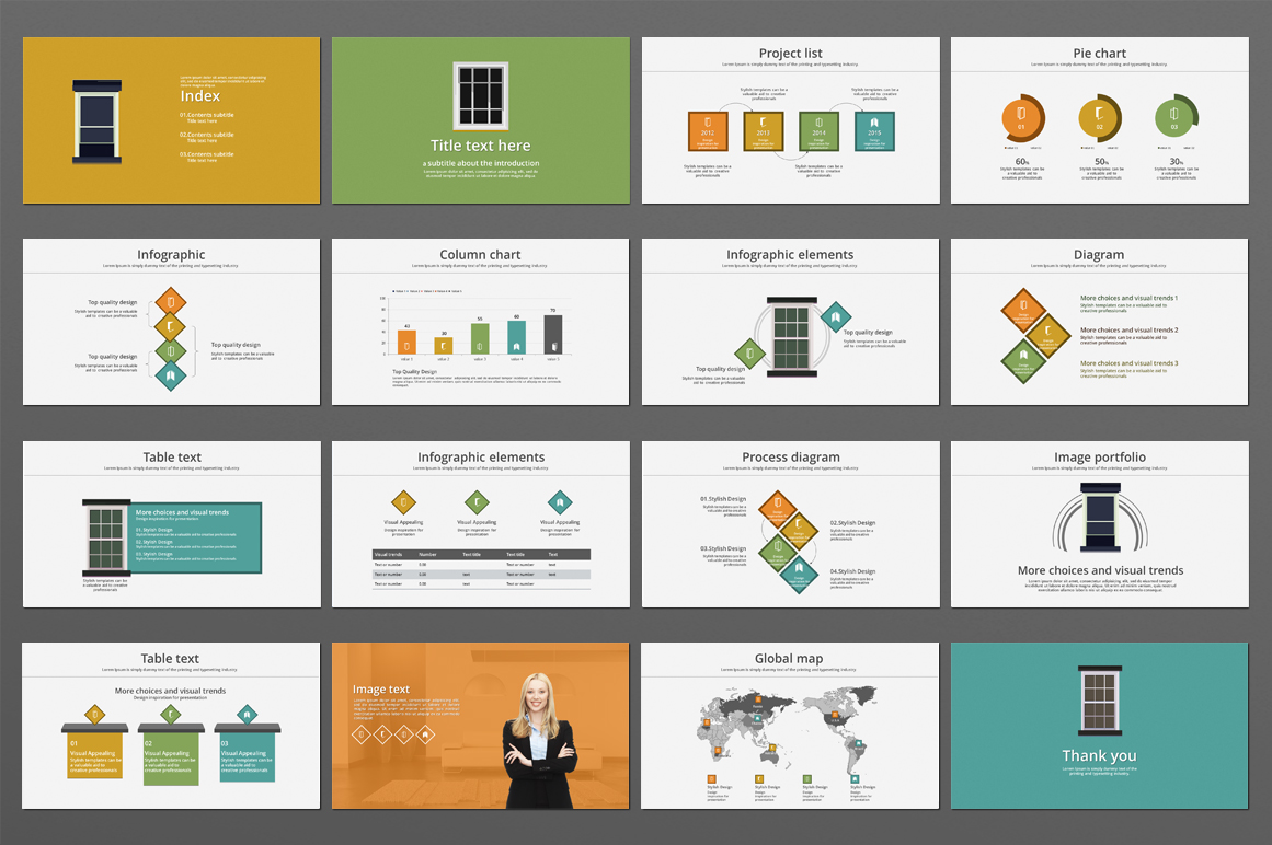 Frame PPT Template example image 3