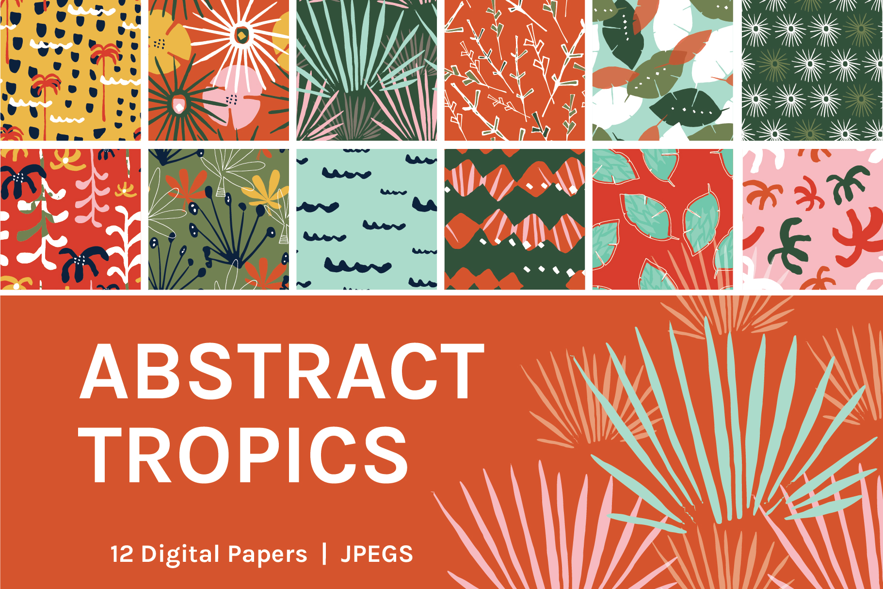 Abstract Tropics example image 1