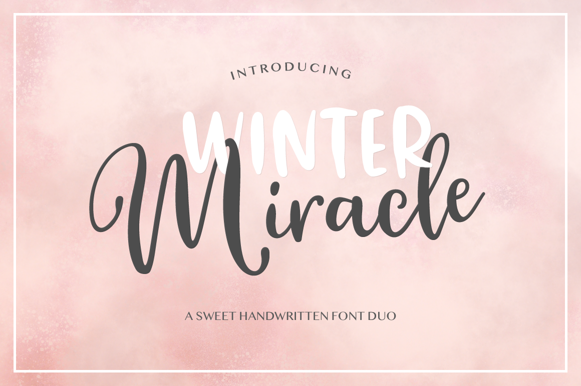 Winter Miracle example image 1