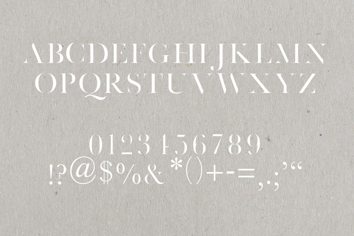 Faroe Thin | A Stunning Serif example image 2